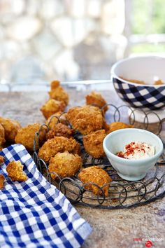 Classic Southern Hush Puppies! Fry these up today! MarlaMeridith.com