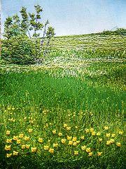 Lakewood, 2012 (My Sweet Prairie - Monika Kinner) Tags: art thread painting landscape stitch sweet embroidery saskatoon monika prairie whalen sorbello kinner my threadpainting