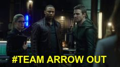 This started with the three of us. Its time we got back to that. #Arrow
