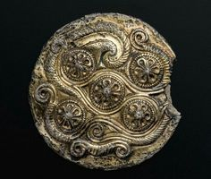 Round silver and gold plaque. Thracian. Early Hellenistic Period, c. 300 B.C. | Museum of Fine Arts, Boston