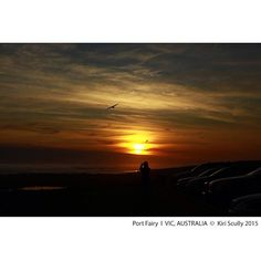 #sunsets #fromthesouthernhemispher #portfairy #greatoceanroad #victoria #australia by kiritamia