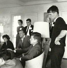 John Kennedy and Bobby Kennedy