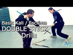 Escrima Double Stick Drills - A good place to start - Filipino Kali Arnis Fight Techniques, Martial Arts Techniques, Kali Martial Art, Mixed Martial Arts, Taekwondo, Kali Escrima, Stick Fight, Bo Staff, Self Defense Martial Arts