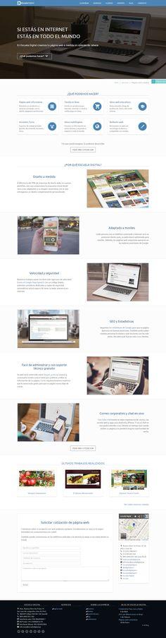 Paginas web - Landing Page