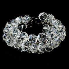 Moonlit Bridals - Silver Clear Crystal Bracelet- FREE SHIP, $74.99 (http://www.moonlitbridals.com/silver-clear-crystal-bracelet-free-ship/)