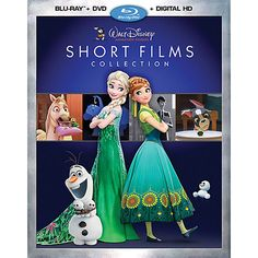 Walt Disney Animation Studios Short Films Collection Blu-ray Combo Pack