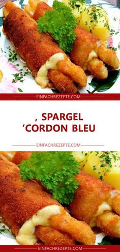 Spargel 'Cordon Bleu' 😍 😍 😍 The Effective Pictures We Offer You About asparagus salad A quality picture can tell you many things. Asparagus Salad, Asparagus Recipe, Healthy Grilling, Healthy Cooking, Lacto Vegetarian Diet, Favourite Pizza, Cooking On The Grill, Cordon Bleu, Different Recipes