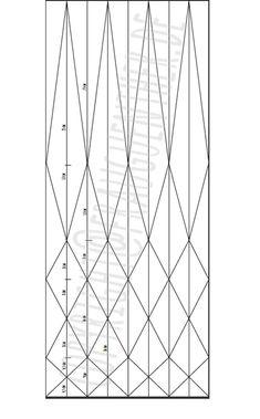DIY, Origami Papierlampe 4, Origami Paper Lamp 4, Folding instructions, Faltanleitung, falten, Papierlampe falten, Lampenschirm falten, Frau Guenther, Tutorial, Anleitung, Drop, Tropfen, Diamant, folding instrables, Faltanleitung, Muster