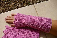 Handstulpen aus Polwarth mit Tencel und Seacell gefärbt,gesponnen und gestrickt von mir. Nach einer Idee von Gerlinde Gebert