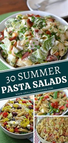 Find out your favorite recipe from 30 Summer Pasta Salads! Summer would not be complete without the versatility of an easy pasta salad you can whip up to entertain a crowd. From this amazing and scrumptious collection, there is a summer menu idea for everyone!