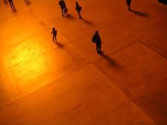 Artificial sun on Tate Modern (London)