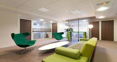 Collaborative space into Heineken's premises in Rueil, France