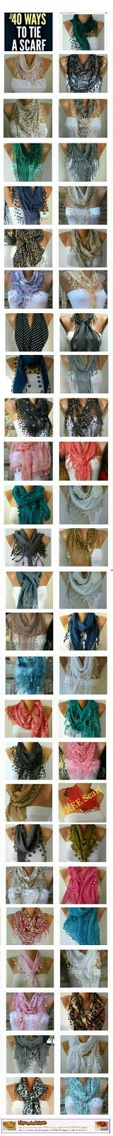 Scarf - over 40 ways
