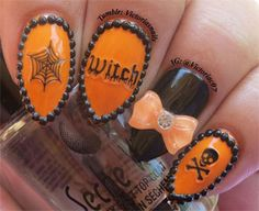 15 Beste 3d Halloween Nageldesign & Ideen 2017 | 3D Nägel - Nageldesign