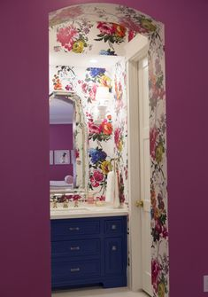 caitlin wilson design amrapali designers guild wallpaper floral bathroom pencil shavings studio