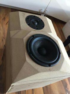 Horn Speakers, Monitor Speakers, Diy Speakers, Built In Speakers, Stereo Speakers, Audio Box, Car Audio, Diy Amplifier, Speaker Box Design