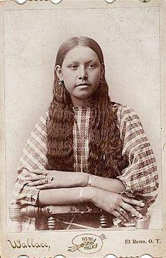 Comanche girl