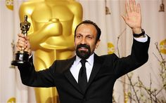 "Asghar Farhadi winning the Best Foreign Language Film Academy Award for ""A Separation"" Film Academy, Academy Awards, Iranian Film, International Film Festival, Language, Fictional Characters, Languages, Fantasy Characters, Oscars"