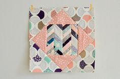 Karyn's Economy block with Herringbone centre... LOVE!
