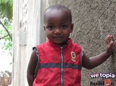 Joy given in WeTopia can shape the futures of kids like 3-year-old Ronaldin by creating a safe classroom where he can learn and grow!