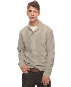 Cable Knit Toggle Sweater | 21 MEN - 2086807106