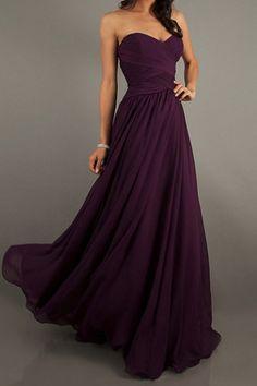Cheap Prom Dresses/Short Prom Dresses/Ball Gowns/Formal Dress/ A Line Sweetheart Floor Length Chiffon Prom Dresses Ruffles