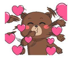 New Raikuma 2 Cartoon Girl Images, Emoji Images, Cute Cartoon Pictures, Cute Love Cartoons, Animated Emoticons, Funny Emoticons, Funny Emoji, Animated Gif, Kiss Emoji
