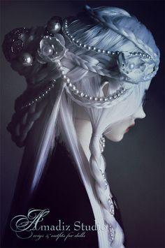 ПАРИК для куклы: модель Undina. Косметика и парфюмерия. Добавила Оксана Шульженко — VilingStore.net