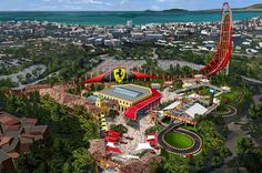 Cool Ferrari 2017: Ferrari Land - New Luxury Theme Park Coming to Spain Check more at http://24cars.top/2017/ferrari-2017-ferrari-land-new-luxury-theme-park-coming-to-spain/