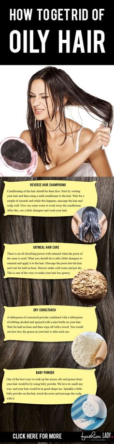 How To Get Rid Of Oily Hair – 8 Tips & Tricks