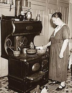 We cooked on a wood stove ... well Grandma did at our cottage. It was pretty amazing how she knew what type of wood to use for certain flavours in food, for lasting heat through the night ... it worked for us! Great memories!   http://2.bp.blogspot.com/-Prc-32YCJS4/TZM9teU3T2I/AAAAAAAAAXM/Cu6mZzs-hLc/s1600/woman-cooking-at-wood-stove.jpg