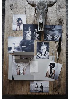 LW Mood Board Portfolio  Styling/ Cleo Scheulderman photo: Jeroen van der Spek
