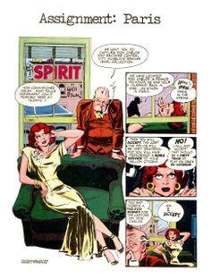 eisner Will Eisner, American Comics, Spirit, Cover, Art, Craft Art, Kunst, Blankets