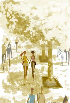 Spring is in the city by PascalCampion