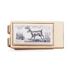 23k Gold Electroplated Money Clip - MCL8721