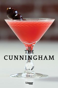 Whiskey Drinks We Love: The Cunningham Cocktail--Two types of citrus plus Benedictine and Cherry Heering? Yes!