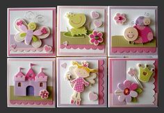 groupings of cards.. go to the website for more cool ideas