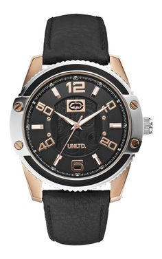 The Sonic - E15013G2 The Sonic, Watches, Spring, Leather, Accessories, Collection, Black, Fashion, Moda