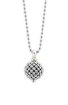 LAGOS LAGOS Sterling Silver Ball Long Pendant Necklace available at #Nordstrom