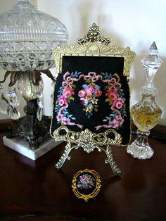 Petit point little purse