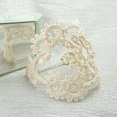 17 Craft Ideas With Handmade Lace - Fashion Diva Design You are most welcomed to YoolaDesign wire crochet world http://www.yooladesign.com