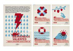 Plata Laus 2013 | E-mail marketing |  Título: Bienvenidos Valientes |  Autor: twoelf |  Cliente: c de c (Club de Creativos de España)