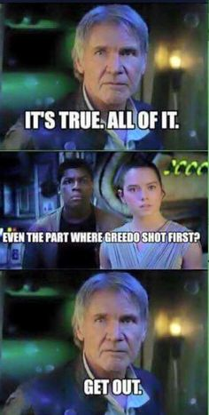 xD Almost all of it is true. --- Don't even think of asking about Midi-Chlorians.