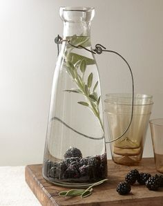 Plain water: lame. Cucumber water: been there. Blackberry-and-sage water: innnnnteresting. Introducing fruit-and-herb combos to…