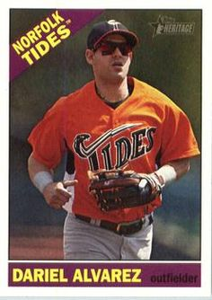 2015 Topps Heritage Minor League #15 Dariel Alvarez Front
