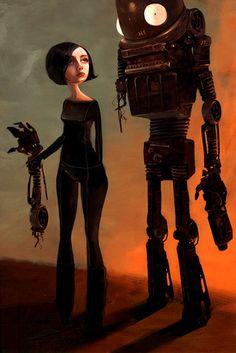 #illustration robot