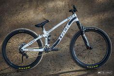 Brandon Semenuk s Trek Ticket S slopestyle bike