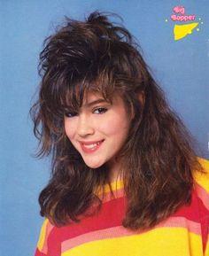 1980's: big hair.