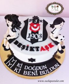 Beşiktaş Pastası #beşiktaş #besiktas #beşiktaşpasta #besiktascake
