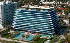 Apartamentos de #luxo em frente ao mar pela #Fendi www.ChateauOcean.us/br #ImoveisMiami #Surfside #BalHarbour